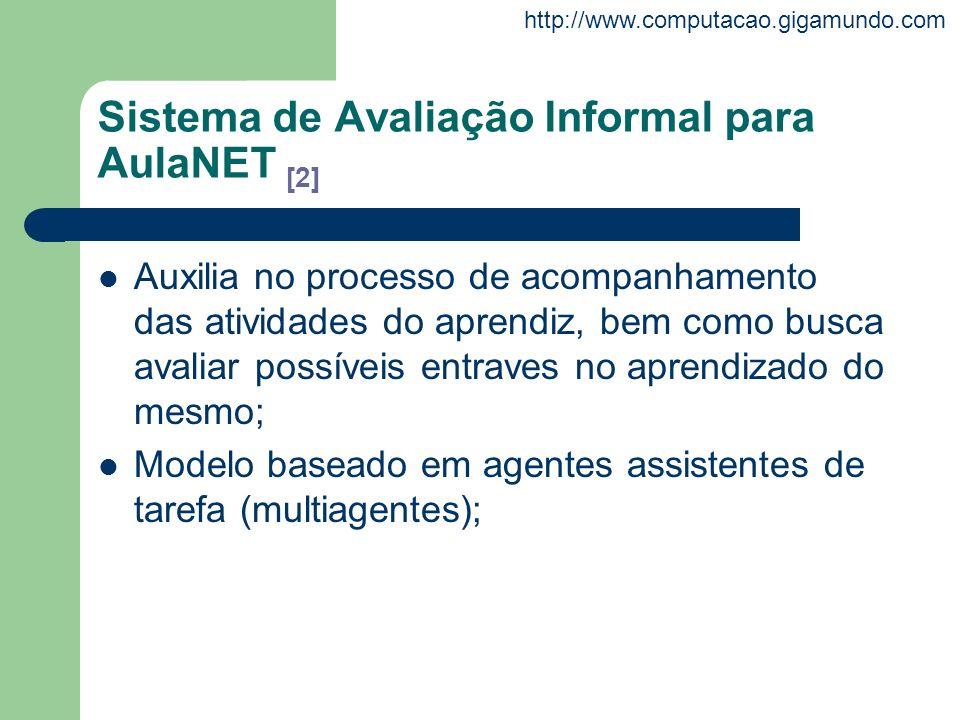 Sistema de Avaliação Informal para AulaNET [2]
